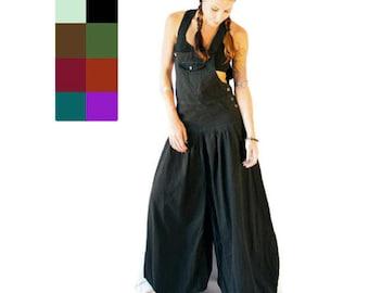 Aladdin Harem  Jumpsuit - Romper -  baggy jumpsuit - dungarees - Asorted colors