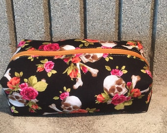 Skulls and Roses Pouch