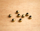 Brass bead charm for Traveler's Notebook and planners