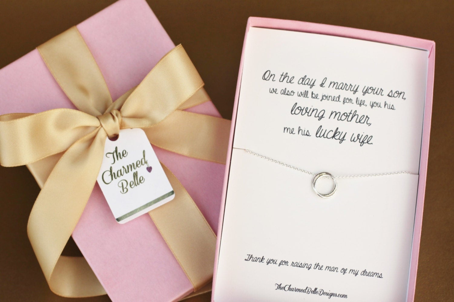 Future Mother In Law Gifts: Future Mother-in-Law Gift Boxed Pendant Mother Of The Groom
