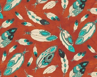 Spirit of the Buffalo 8119, Feathers, Rust