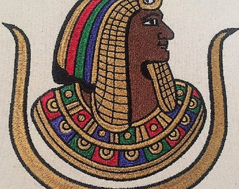 Daughter of Isis 7X7 embroidery design