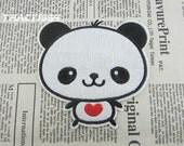 Panda Patch Iron On