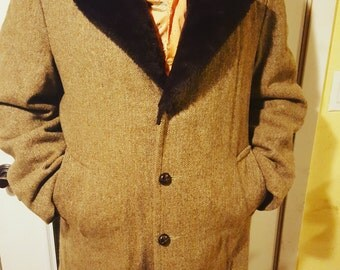 Men's Don Draper Tweed Coat 42