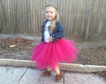 The PRESLEY tutu || Choose Your Color || baby tutu || birthday tutu || ruffle tutu || toddler tutu || girl tutu skirt || nb-4T