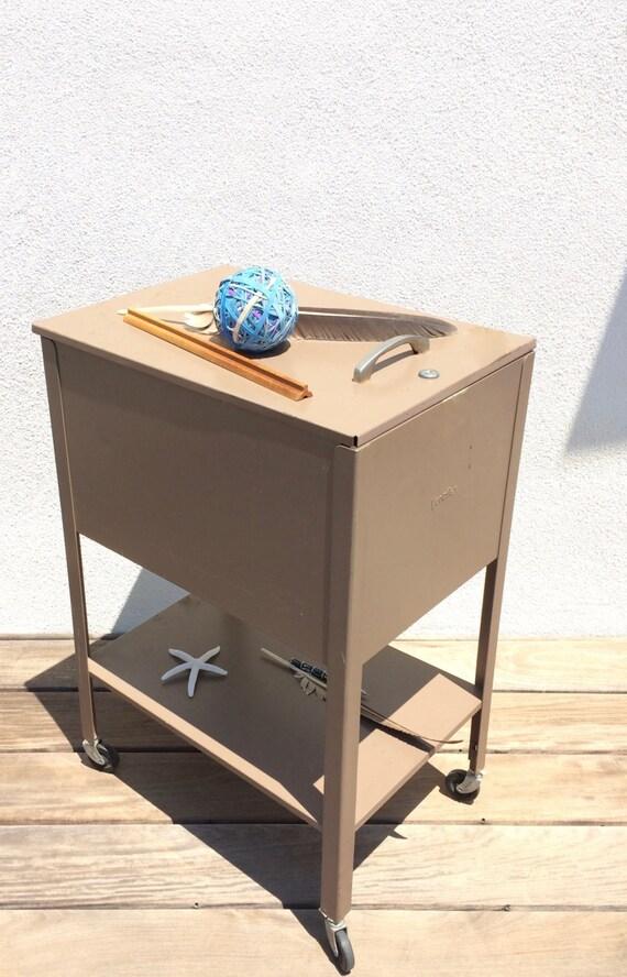 Sale VERTIFLEX Rustic Rolling File Cabinet Retro Office