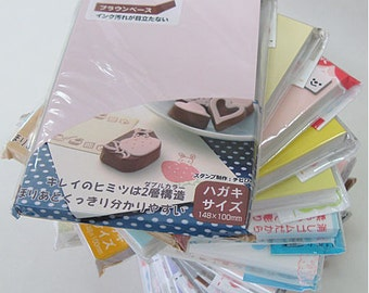 Japanese Coloured Surface Eraser Stamp Carving Blocks - Ready to ship