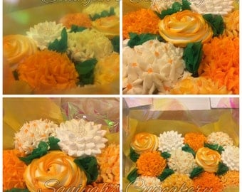 Cupcake Bouquet SC17~ (Local Delivery Only )Philadelphia & Surrounding Areas