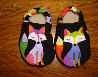 """Baby Shoes """"Caboodles"""" Fox Print"""