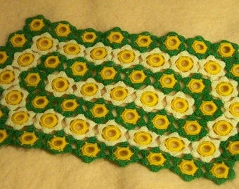 Crocheted Doily / Small Runner - Cecelia-Marie 234