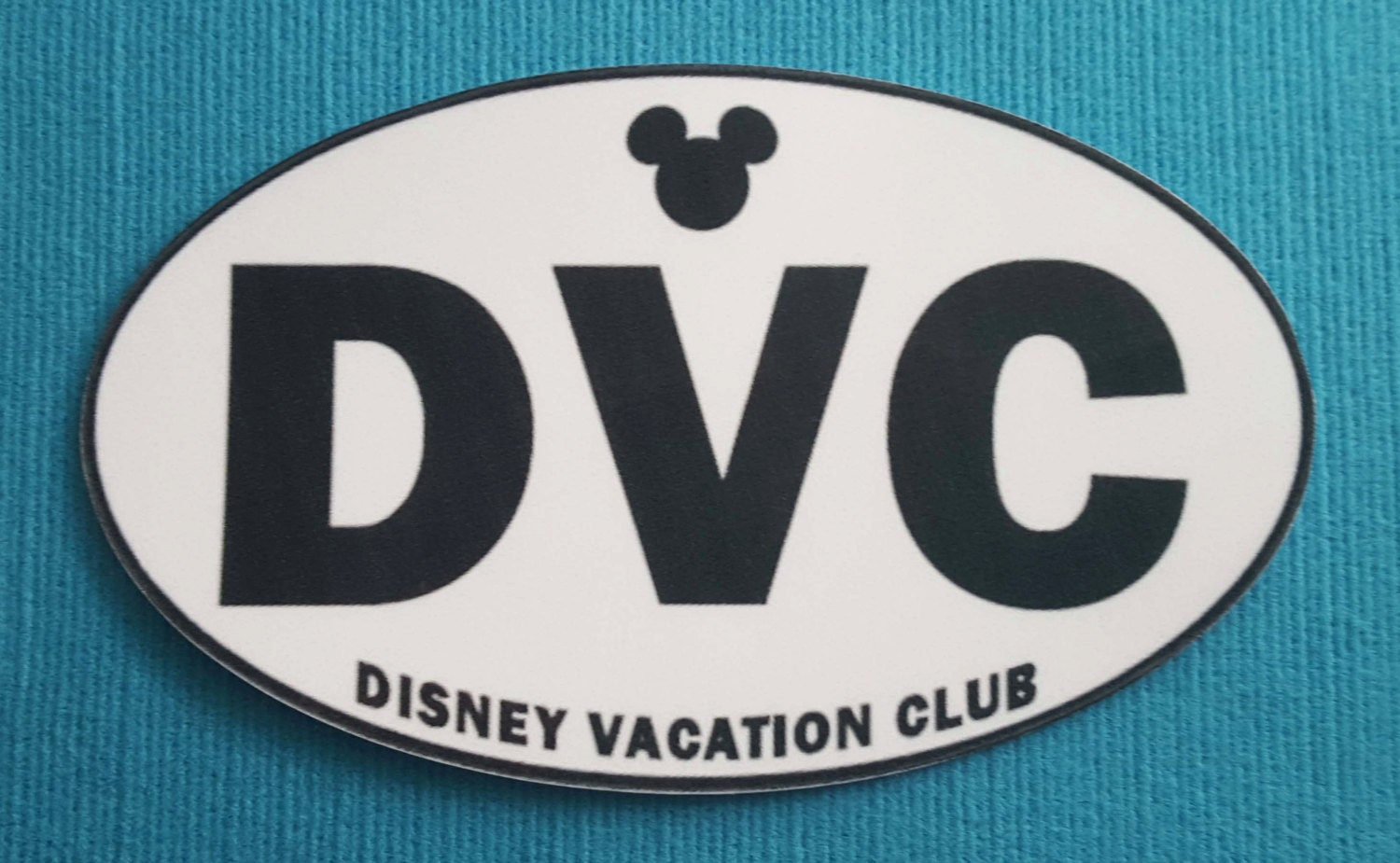 Disney Vacation Club DVC Member Bumper Sticker or Car