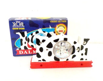 Vintage Toy, 101 Dalmatians Snow Dome, Snow Globe for McDonalds 1996