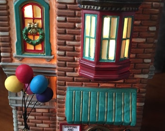 Dept 56 light house Nicolas & Co Toys Christmas in the City Series