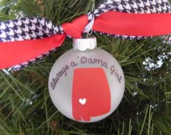 Alabama Ornament-RollTide-Bama-College