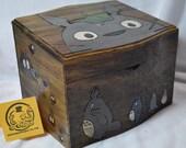 """Totoro Inspired  """"My Neighbor Recipe Box"""""""