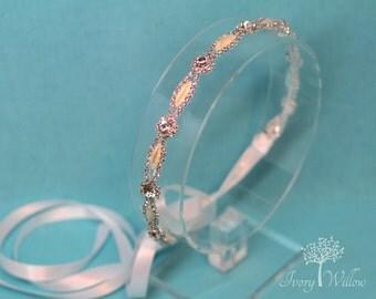 Pearl Bridal Headband - Pearl Wedding Headband - Bridal Headpiece - Wedding Headpiece - Bridesmaid Headband -  Prom - Flower Girl