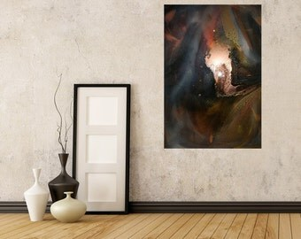 20% OFF - 95cm Resin Art Abstract Painting - ABSOLUTE MAGNITUDE