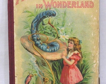 ON SALE Alice's Adventures in Wonderland Tenniel Illustrations Charles E. Graham Publisher 1900