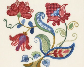 Crewel Embroidery Kit - MEADOW BLOOM