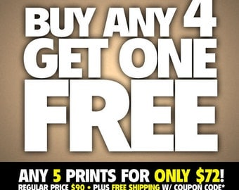 Buy 4 - Get One Free VALUE PACK: Plus Free Shipping w/ Coupon Code*