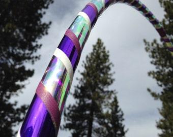 Purple Caribbean Specialty Taped Practice Hoop -  By Colorado Hoops