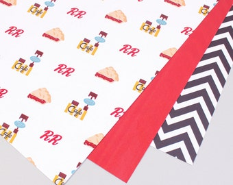 Twin Peaks Wrapping Paper (2 Sheets)
