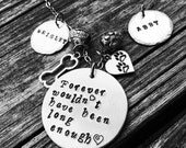 Personalized Dog Remembrance Necklace - can be customized for any loved animal