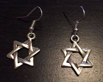 Star Earrings Sky Faith Love Nickel Free Hooks*sale*