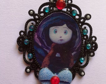 Coraline inspired cameo