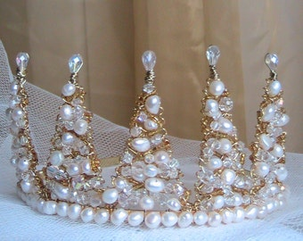 Snow Queen Crown Tiara
