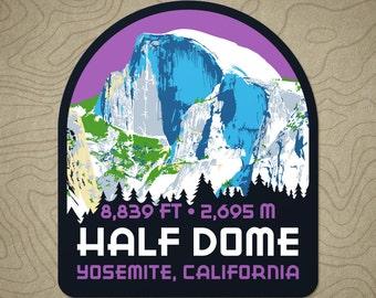 Half Dome Decal Sticker