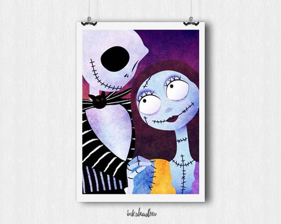 JACK and SALLY from Nightmare Before Christmas Downloadable