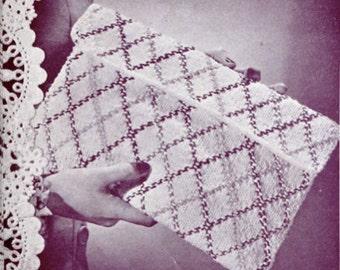 1940's Envelope Knit Purse Pattern
