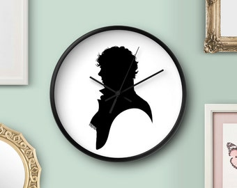Sherlock BBC Clock Sherlock Clock Sherlock Wall Decor Sherlock Home Accessories Sherlock Holmes Clock