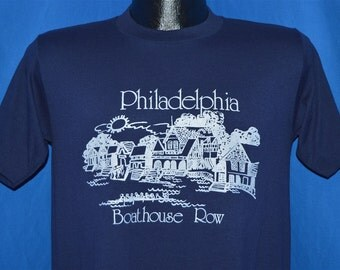 80s Philadelphia Boathouse Row Souvenir t-shirt Medium