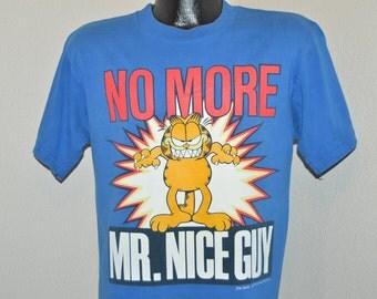 90s Garfield No More Mr Nice Guy t-shirt Medium
