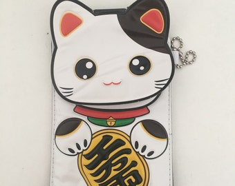 Good Luck Kitty Storage Pouch
