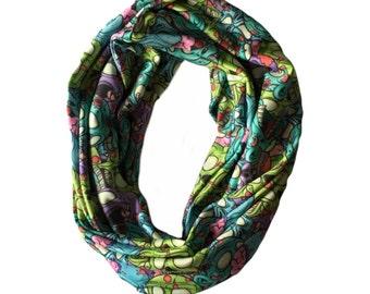 Zombie infinity scarf