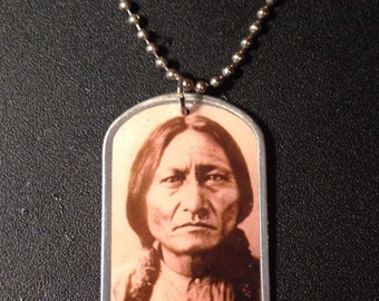 Sitting Bull Dog Tags
