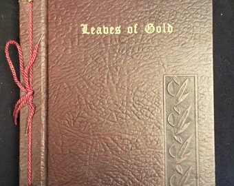 1964 Leaves of Gold book