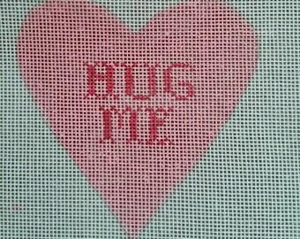 Candy Heart - HUG ME - pink