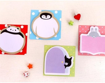 Cute Animal Sticky Note Post it Planner Note SN1016AN3