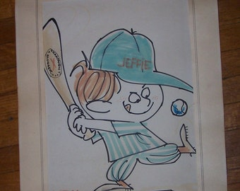 Jerry Warshaw, was  known as a Cartoonist Nationally