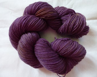 Semi Solid Hand Dyed Sock Yarn - Superwash Merino - 100g (3.5 oz)