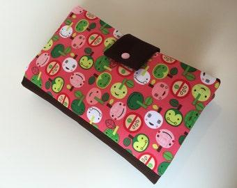 Diaper Bag / Clutch 'Appleville'