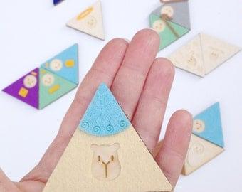 Nativity Magnet Set