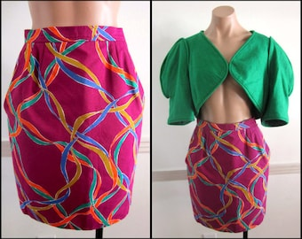 Yves Saint Laurent skirt / YSL skirt / FR 36 fits S / Ysl vintage skirt
