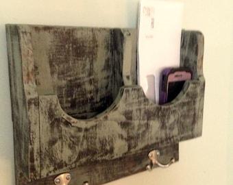 wall mail holder/key rack/leash holder/key rack