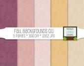 Fall Digital Background Textures - Burgundy Wine Gold Pink - Scrapbooking Paper, Blog Design, Photography Backgrounds - High Resolution