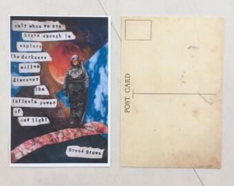 Brave Light Postcard